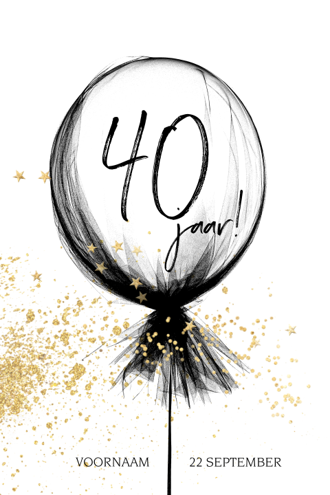 40 Jaar Verjaardagsfeest