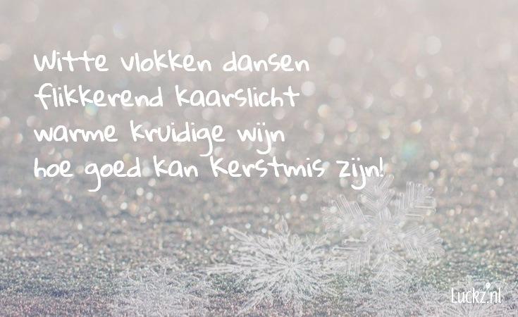 kerstmis, witte vlokken dansen tekst