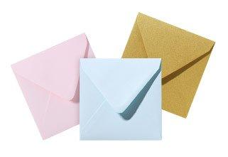 Enveloppen vooraf bestellen