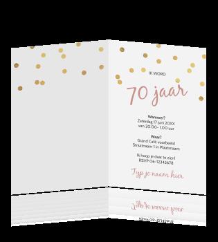 Tekst Uitnodiging Verjaardag 70 Jaar Archidev