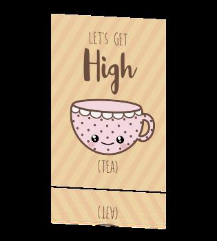 Nieuw Grappige uitnodiging high tea XR-02